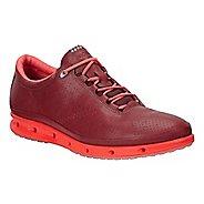 Womens Ecco Cool GTX Casual Shoe - Port/Coral Blush 11.5