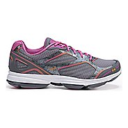 Womens Ryka Devotion Plus Walking Shoe - Grey/Rhythm Orange 10.5