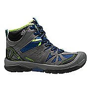Kids Merrell Capra Mid Waterproof Hiking Shoe - Grey/Blue 2Y