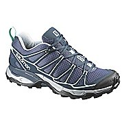 Womens Salomon X-Ultra Prime Hiking Shoe - Grey/Blue 9