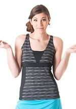 Womens Skirt Sports Electric Sleeveless & Tank Technical Tops