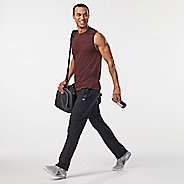 Mens Road Runner Sports Trail Blazing Track Full Length Pants - Black M