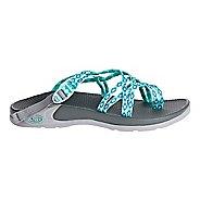Womens Chaco Zong X Sandals Shoe - Aruba Aqua 5