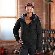 Womens Road Runner Sports Take Flight Insulated Running Jacket - Black XS