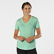 Womens R-Gear Finish First Short Sleeve Technical Tops - Sea Glass M