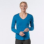 Womens R-Gear Finish First Long Sleeve No Zip Technical Tops - Marina L