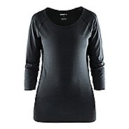 Womens Craft Cool Seamless Touch Sweatshirt Long Sleeve Technical Tops