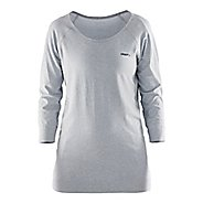 Womens Craft Cool Seamless Touch Sweatshirt Long Sleeve Technical Tops - Grey S/M