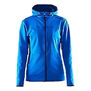 Womens Craft Leisure Full Zip Hoodie & Sweatshirts Technical Tops - Sweden Blue XS