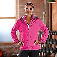 Womens Road Runner Sports Run On Rain Outerwear Jackets