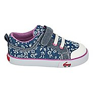 Girls See Kai Run Kristin Casual Shoe - Blue Flowers 8C