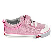 Girls See Kai Run Kristin Casual Shoe - Blue Flowers 4C