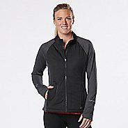 Womens Road Runner Sports Warm Haven Puff Outerwear Jackets - Black M
