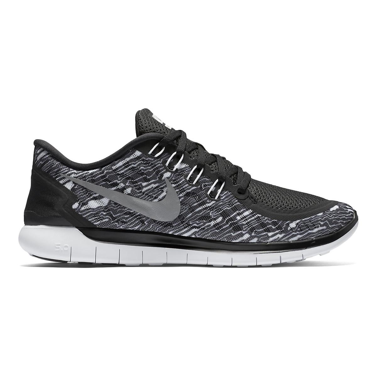 Mens Nike Free 5.0 Print Running Shoe at Road Runner Sports