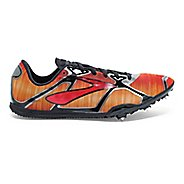 Mens Brooks PR LD 4 Track and Field Shoe - Red/Anthracite 7.5