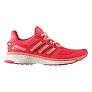 Womens adidas Energy Boost 3 Running Shoe - Purple/Sun Glow 10.5