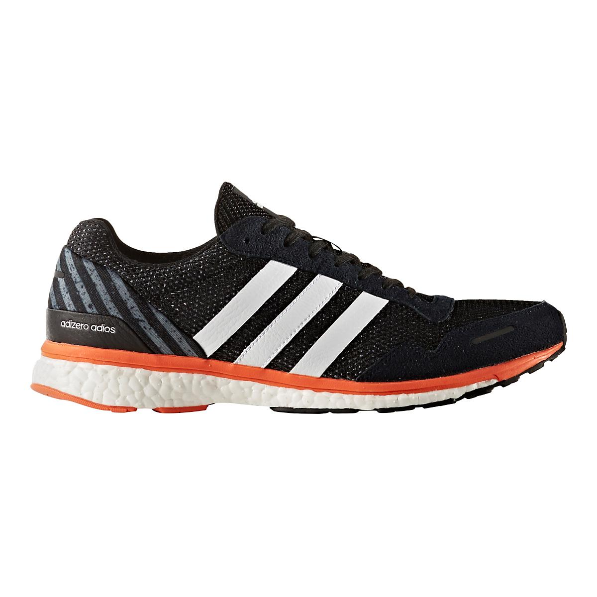ADIDAS ADIZERO ADIOS BOOST 3 MEN'S RUNNERS. SIZE: 10 USA