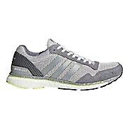 Womens adidas Adizero Adios 3 Running Shoe - Grey/Silver/Grey 6.5