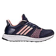 Womens adidas Ultra Boost ST Running Shoe - Navy/Pink 11