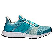Womens adidas Ultra Boost ST Running Shoe - Turquoise 10