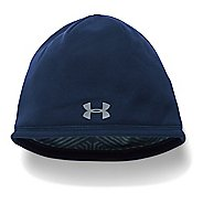 Mens Under Armour Elements Beanie 2.0 Headwear - Midnight Navy