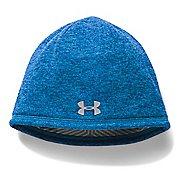 Mens Under Armour Elements Beanie 2.0 Headwear - Brilliant Blue
