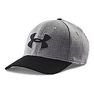 Mens Under Armour Closer 2.0 Cap Headwear - True Grey/Black L/XL