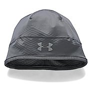 Mens Under Armour ColdGear Infrared Run Beanie Headwear - Graphite