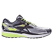 Mens Brooks Ravenna 7 Running Shoe - Silver/Neon 8