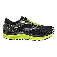 Mens Brooks Transcend 3 Running Shoe - Black/Neon 8