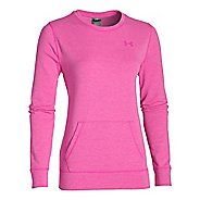 Womens Under Armour ColdGear Infrared Cozy Crew Long Sleeve No Zip Technical Tops