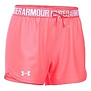 Womens Under Armour Play Up Unlined Shorts - Brilliance L