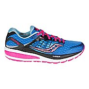 Womens Saucony Triumph ISO 2 Running Shoe - Blue/Pink 6