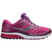 Womens Saucony Guide 9 Running Shoe - Pink 6