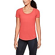 Womens Under Armour Threadborne Streaker Short Sleeve Technical Tops