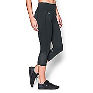Womens Under Armour Fly by Run Capri Pants - Anthracite XS