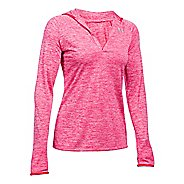 Womens Under Armour Twist Tech Long Sleeve Half-Zips & Hoodies Technical Tops