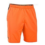 Mens Under Armour Hiit Woven Compression & Fitted Shorts - Beta Orange L