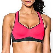 Womens Under Armour High Sports Bras - Red/Anthracite 34D