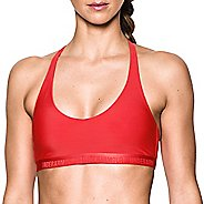 Womens Under Armour Low Sports Bras - Pomegranate XL