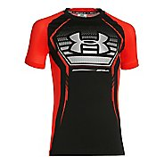 Under Armour Kids Armour Up Short Sleeve T Sleeveless & Tank Tops Technical Tops - Black/Risk ...