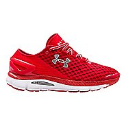 Mens Under Armour Speedform Gemini 2 Running Shoe - Red/White 15