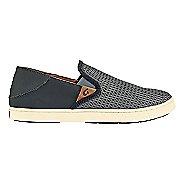 Womens OluKai Pehuea Casual Shoe - Black/Black 10