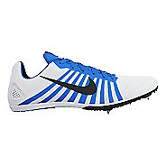 Nike Zoom D Track and Field Shoe - White/Blue 11