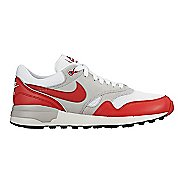 Mens Nike Air Odyssey Casual Shoe - White/Red 9.5