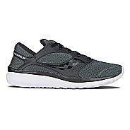 Mens Saucony Kineta Relay Casual Shoe - Black/Black 13