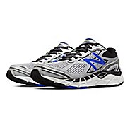 Mens New Balance 840v3 Running Shoe - Silver/Blue 12.5