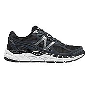 Mens New Balance 840v3 Running Shoe - Black/White 11.5