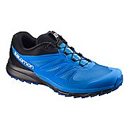 Mens Salomon Sense Pro 2 Trail Running Shoe - Indigo/Blue/Black 13