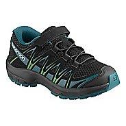 536827dcb78ae Kids Salomon XA Pro 3D K Trail Running Shoe - Black Lagoon Lime 9C